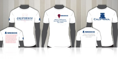 MEDCO California Warehouse T-Shirts