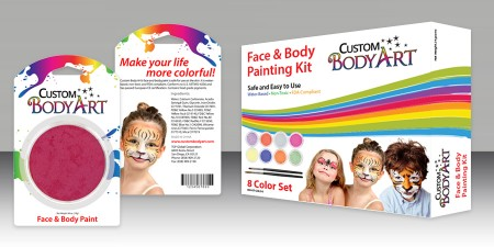 Custom Body Art 2014 Product Packaging