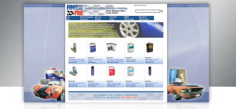 Finish Pro Website Design