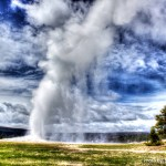 """Old Faithful"" Yellowstone, WY"
